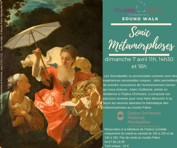 Sound WAlks Sonic metamorphose