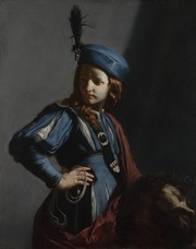 Guido CAGNACCI, David avec la tête de Goliath, vers 1655, huile sur toile, The J. Paul Getty Museum, Los Angeles